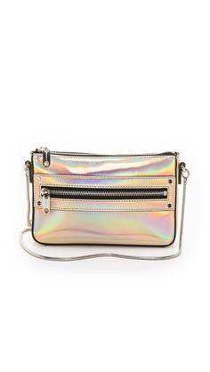 Milly Demi Hologram Mini Bag $225