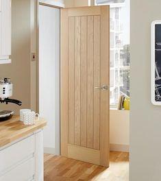Oak doors w white trim we bought a house pinterest for 1 panel inlaid oak veneer door