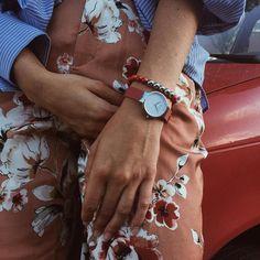 Red Coral, Daniel Wellington, Accessories, Jewelry