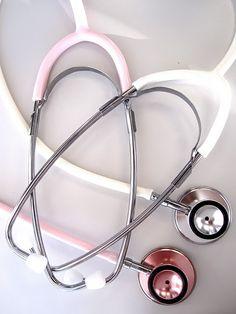 Dat premed life-want the pink one :) Littman's Cardiac Stethoscope