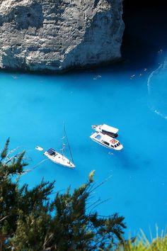 Navagio Bay, Zakynthos, Greece
