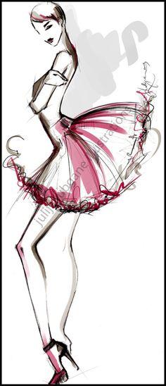 Fashion Illustrations 2013 by Julija Lubgane at Coroflot.com
