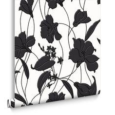 Marylou Black Wallpaper, , large
