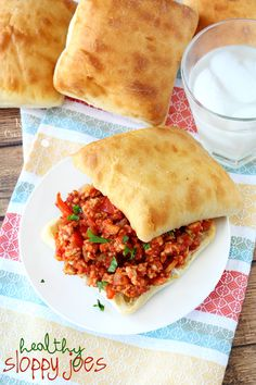 If you're not sure what to make for dinner, I have the perfect protein-packed meal your whole family will devour- healthy sloppy joes!