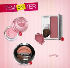 No Make It: Tem que ter: a vez do blush!