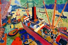 The Pool of London, 1906, Andre Derain, France.