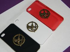 SALE Hunger Games Mockingjay Iphone 4 case 2 colors by Jwhiz, $10.00