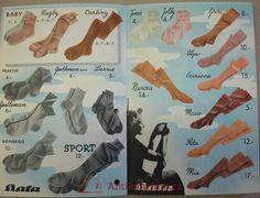 Katalog Baťa Novinky JARO 1939, 1939 Tennis