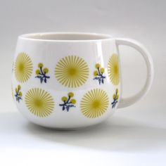 Fleur Jaunes cup | Tea and Kate