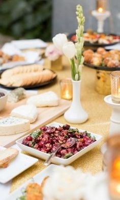 Dessert Bar Inspiration: Tasty appetizers for the wedding day #horderves #treats  Photo by: Birds of a Feather Photography on Inspired by This