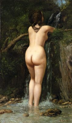 The Source - Gustave Courbet (French), The Metropolitan Museum of Art, New York