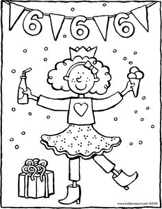 School Birthday, Birthday Board, Birthday Gifts, Happy Birthday, Coloring Pages, Bullet Journal, Snoopy, Lily, Party