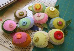 pincushions by Hillary Lang