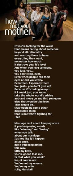 how i met your mother ted mosby words and beyond pinterest