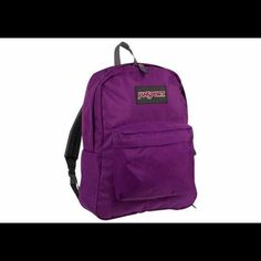 JANSPORT Superbreak backpack Color: Vivid Purple Jansport Bags Backpacks
