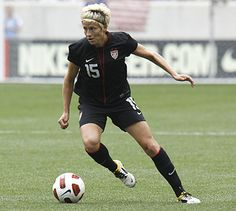 U.S. WNT MF Megan Rapinoe: Former US Youth Soccer National Champion and ODP player.