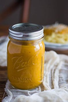 Vegan Butternut Squash Sauce | The Green Loot #vegan #dairyfree