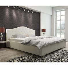 Cikkszám: QUEEN-FH-180 A QUEEN kárpitozott ágy kiváló minőségű anyagokból készült, ezáltal biztosított, hogy hosszú éveken át gyönyörködhetsz majd pazar megjelenésében. Rendkívül kényelemes, több méretben és színben rendelhető. Dobja fel hálószobáját és teremtsen stílusos és kényelmes környezetet!