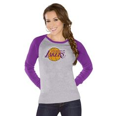 864ad1107ec3c5 Touch by Alyssa Milano Los Angeles Lakers Women s Fan For Life Sweater -  Gray Purple