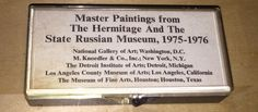 Lot of Slides Master Paintings Hermitage And State Russian Museum 1975 Art Photo