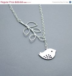 Love this idea of putting the chain through the leaf pendant! I have leaf pendants like this--do something similar!