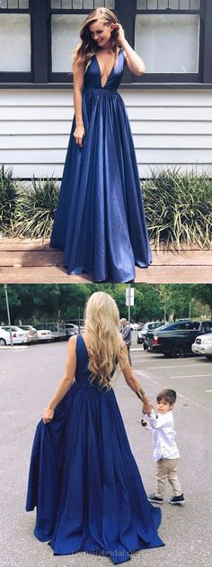 Sparkly Prom Dress, Navy Blue Prom Dresses Long, 2018 Party Dresses A-line, V-neck Formal Dresses Sexy, Girls Evening Gowns Satin with Ruffles These 2020 prom dresses include everything from sophisticated long prom gowns to short party dresses for prom. Navy Evening Dresses, Navy Blue Prom Dresses, Open Back Prom Dresses, V Neck Prom Dresses, Prom Dresses For Teens, A Line Prom Dresses, Cheap Prom Dresses, Sexy Dresses, Formal Dresses