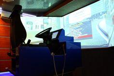 Symulator jazdy w warunkach specjalnych samochodem ciężarowym i autobusem S1