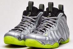 bb5da3c05cda2 Nike Air Foamposite One Premium (Metallic Silver Volt) - Sneaker Freaker