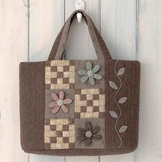 Japanese patchwork tote