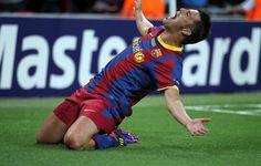 Las '7' grandes noches de Villa con el FC Barcelona   FC Barcelona