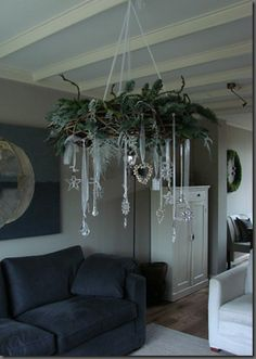 chic decor Top 18 Shabby Chic Christmas Decor Ideas – Cheap & Easy Interior Party Design Project - Way To Be Happy