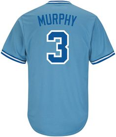 00f9619b420 Majestic Men s Dale Murphy Atlanta Braves Cooperstown Player Replica Cb  Jersey - Blue L