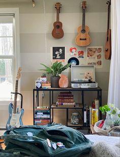 Room Design Bedroom, Room Ideas Bedroom, Bedroom Decor, Appartement Design, Indie Room, Cute Room Decor, Pretty Room, Aesthetic Room Decor, Aesthetic Indie