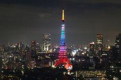 9月19日(土)~23日(水・祝)のシルバーウィーク5日間限定!人気ナンバーワンのライトアップをお楽しみください!「東京タワー レインボーダイヤモンドヴェール」点灯します! | 東京タワー TokyoTower オフィシャルホームページ