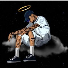 This is Super Dope and Amazing. Chris Brown Art, Chris Brown Style, Breezy Chris Brown, Dope Cartoon Art, Dope Cartoons, Hype Wallpaper, Cartoon Wallpaper, Chris Brown Wallpaper, Tupac Art