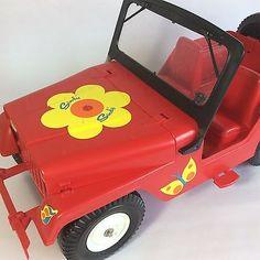 Vintage Pedigree Sindy Doll Fun Buggy Car With Box
