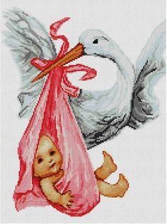 Elegante patrón par regalo de recién nacido