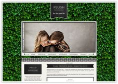 PLUSH: ProPhoto Design. Love this design, and of course, the colouring.