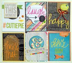 DIY journal cards created by Kristine Davidson!