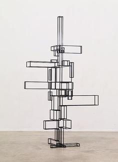 Propose II, 2009  Anthony Gormley - could you make something like this into a bookcase?