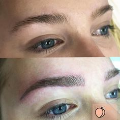 """97 Likes, 6 Comments - Cosmetic Tattoo Melbourne (@thepeachclub) on Instagram: """"Traveling the world and need that no makeup but brows still on point lookI got you covered. Enjoy…"""""""