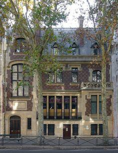 Hôtel particulier (1880) 29, avenue de Villiers paris 75017. Ex Ambassade de Corée.