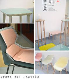 Geometric pastels – a big trend at Milan Furniture Fair Trends: Top 6 For 2013