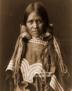 1904 Jicarilla girl Native American Indian