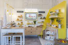 Skinfood pop-up store by centdegrés Paris France