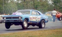 Vintage Drag Racing - Bobby Blue Nova