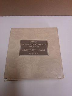 Avon Here's My Heart Beauty Dust Refill with by AlliesAtticShop