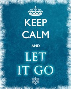 Frozen Keep Calm Poster by SporterDesigns on Etsy