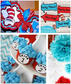 Host a Dr. Seuss Birthday Party