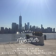 Take your workouts outside on a beautiful day  #fitness #nogym #quote #workout #exercise #fitgirlwcurls